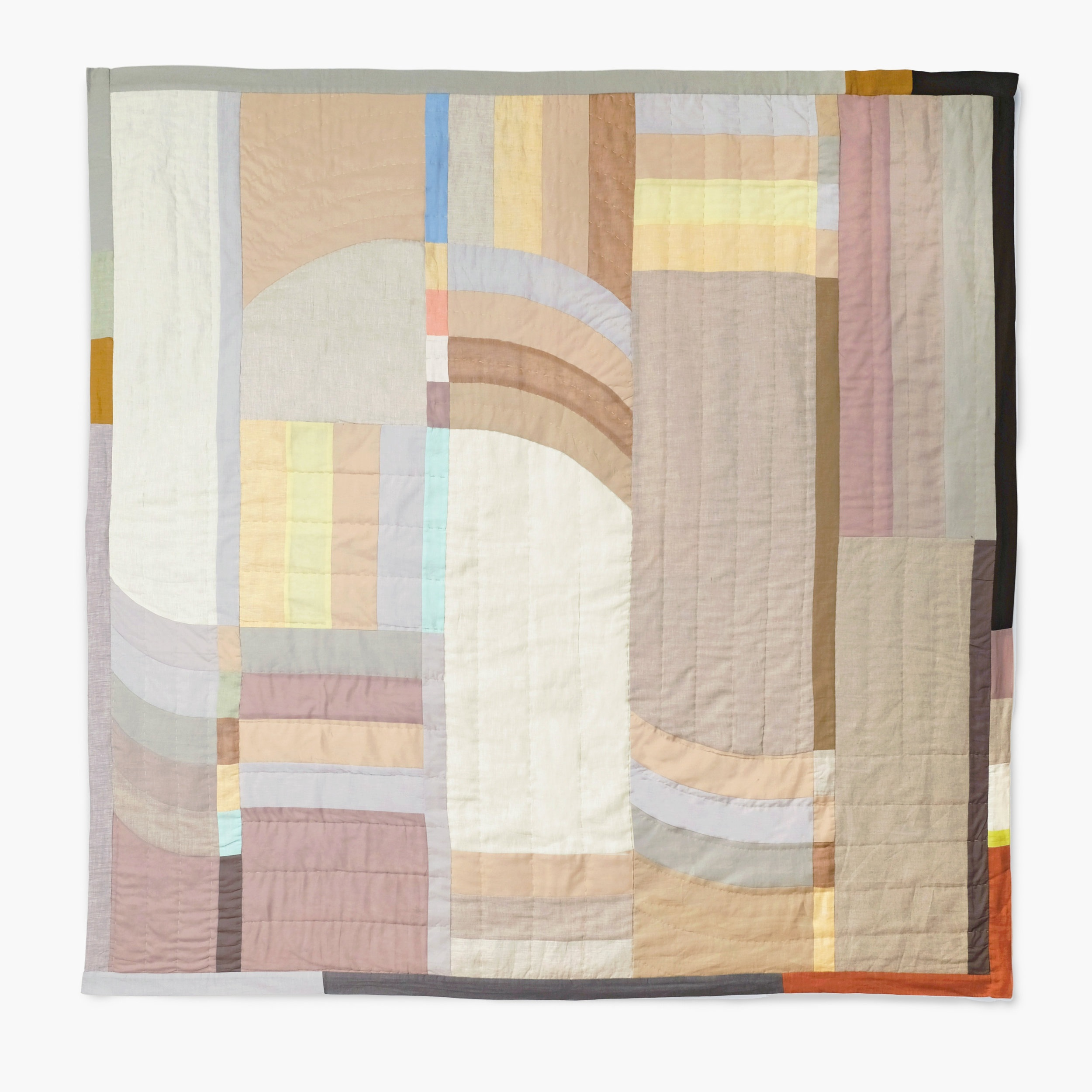 Arc Quilt Pastel by Thompson Street Studio