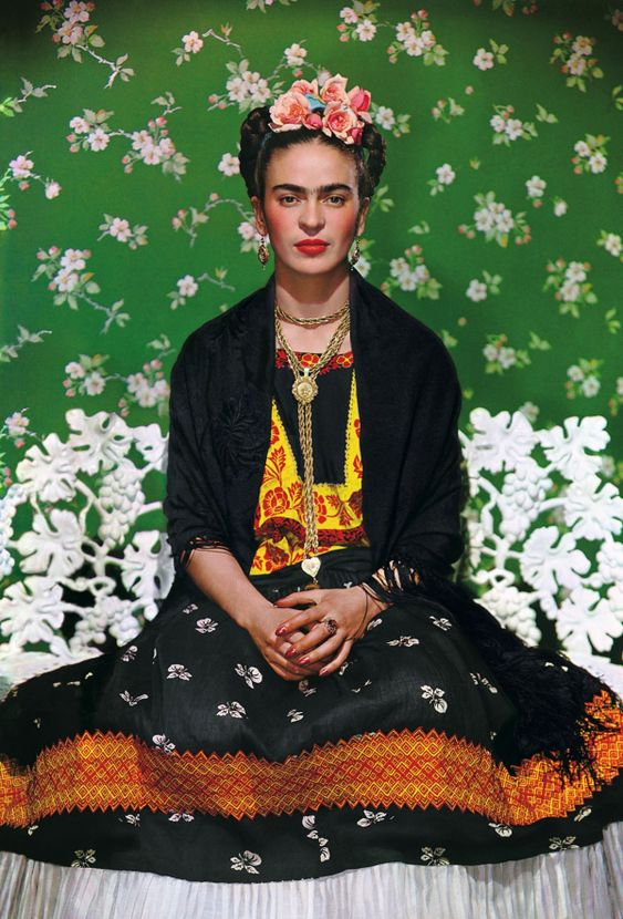 Nickolas Muray (American, born Hungary 1892-1965)  Frida on Bench , 1939