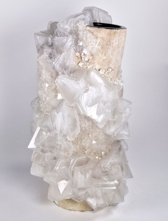 Crystallization Vase by Lukas Wegwerth