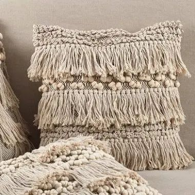 Moroccan Fringe Pillows