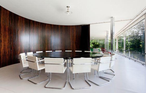 Villa Tugendhat by Mies van der Rohe