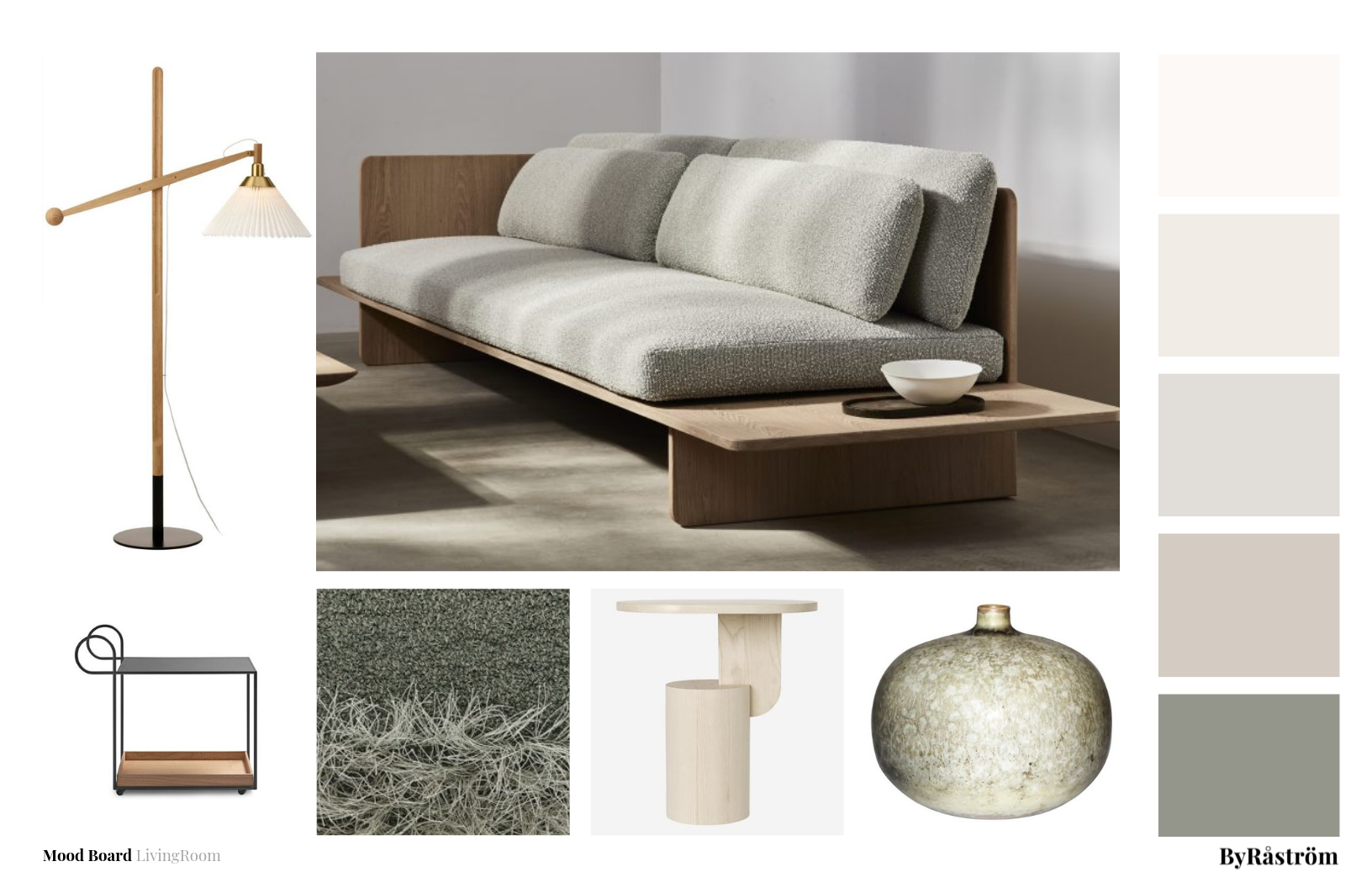 Mood Board Living Room Au Naturel