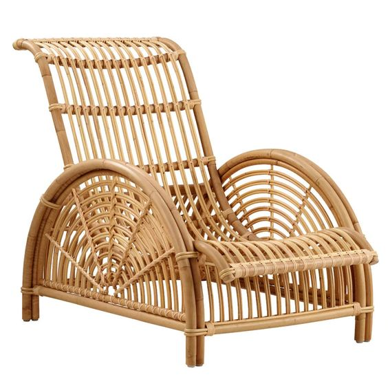Paris Chair - Designed by Arne Jacobsen in 1925Sika DesignThis sculptural rattan piece was Jacobsen's first furniture design.