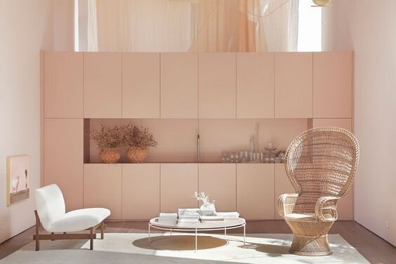 Pink Interior by BC Architects, Sao Paulo, Brazil