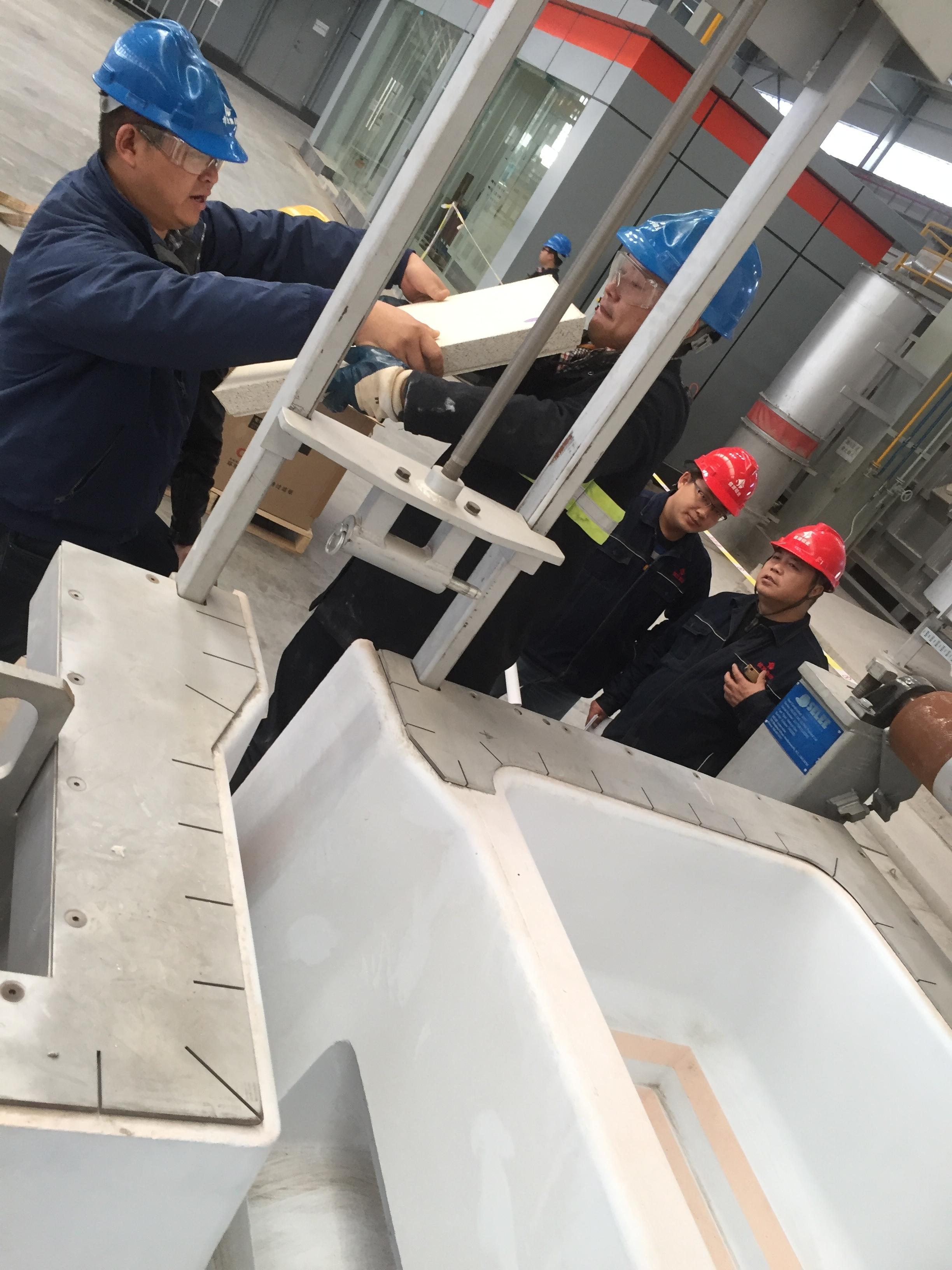 China Helping Customer with Installation.JPG