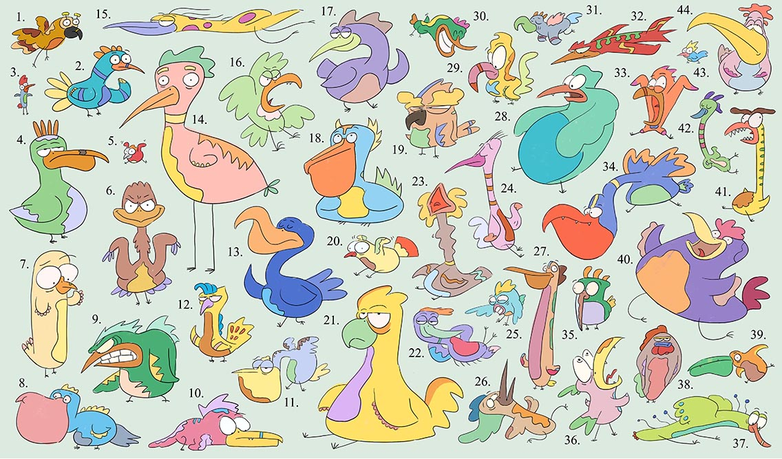 Prehistoric Birds/Uccelli Preistorici