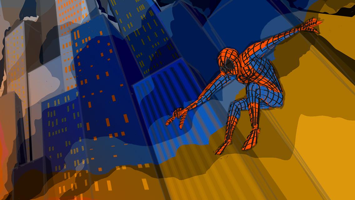 Speed Painting [11] 05/04/2018: yes, that's spiderman/sì è spider-man quello