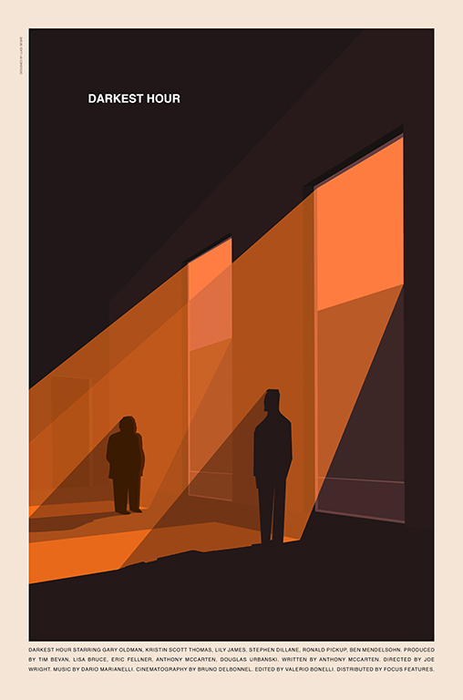 Darkest Hour poster by Luigi Segre