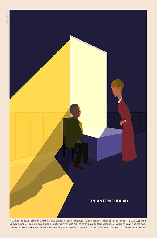Phantom Thread poster by Luigi Segre