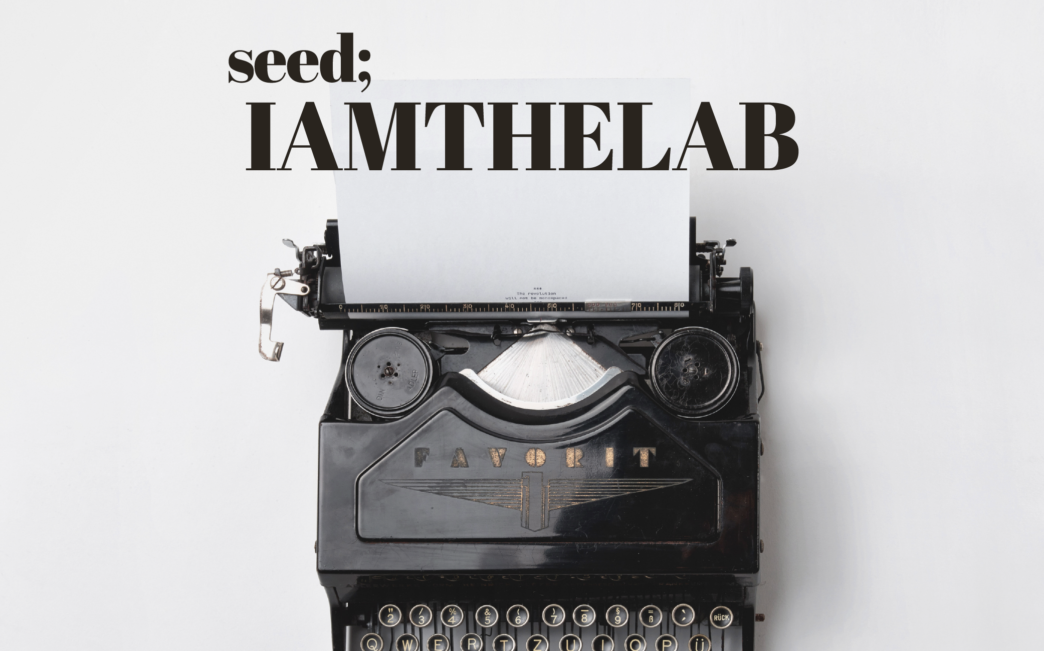 IAMTHELAB X Design Seeds | Seed Design Consultancy