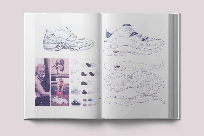 Jess' Portfolio | Reebok | Seed Design Consultancy
