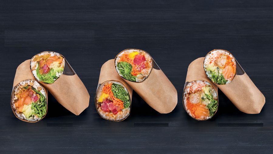 SUSHI BURRITO - MAKE ANY SUSHI ROLLS INTO A BURRITO FOR $13