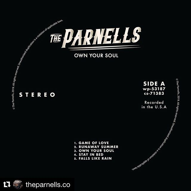 """I'm proud to have worked with this crew on their amazing debut record. Please have a listen and share it out if you dig it!  Link in bio  #Repost @theparnells.co ・・・ Today is the DAY. Our debut record """"Own Your Soul"""" is out worldwide. Please buy it, stream it, jam it, crank it and most importantly SHARE it. • Your support means the world to us. If you live in Bend, we'll see ya tonight (Spoken Moto 7pm). If you don't...we'll see you on the road...soon. 😉 • #albumrelease #newmusic #newmusicfriday #ownyoursoul #theparnells #countrymusic #americana"""