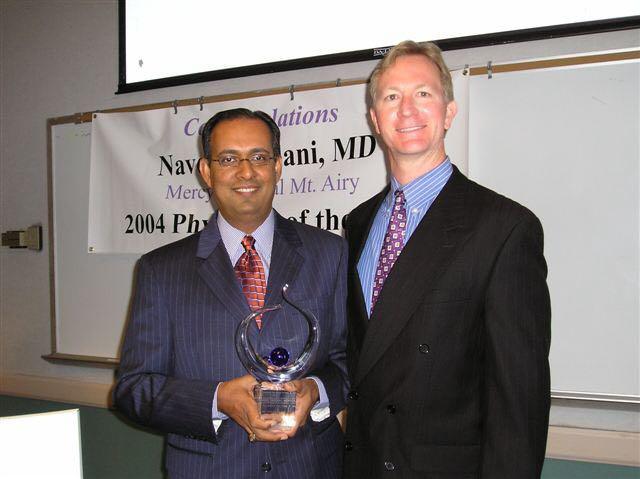 Physician of the Year - Naveed Fazlani-Mercy Health in Cincinnati