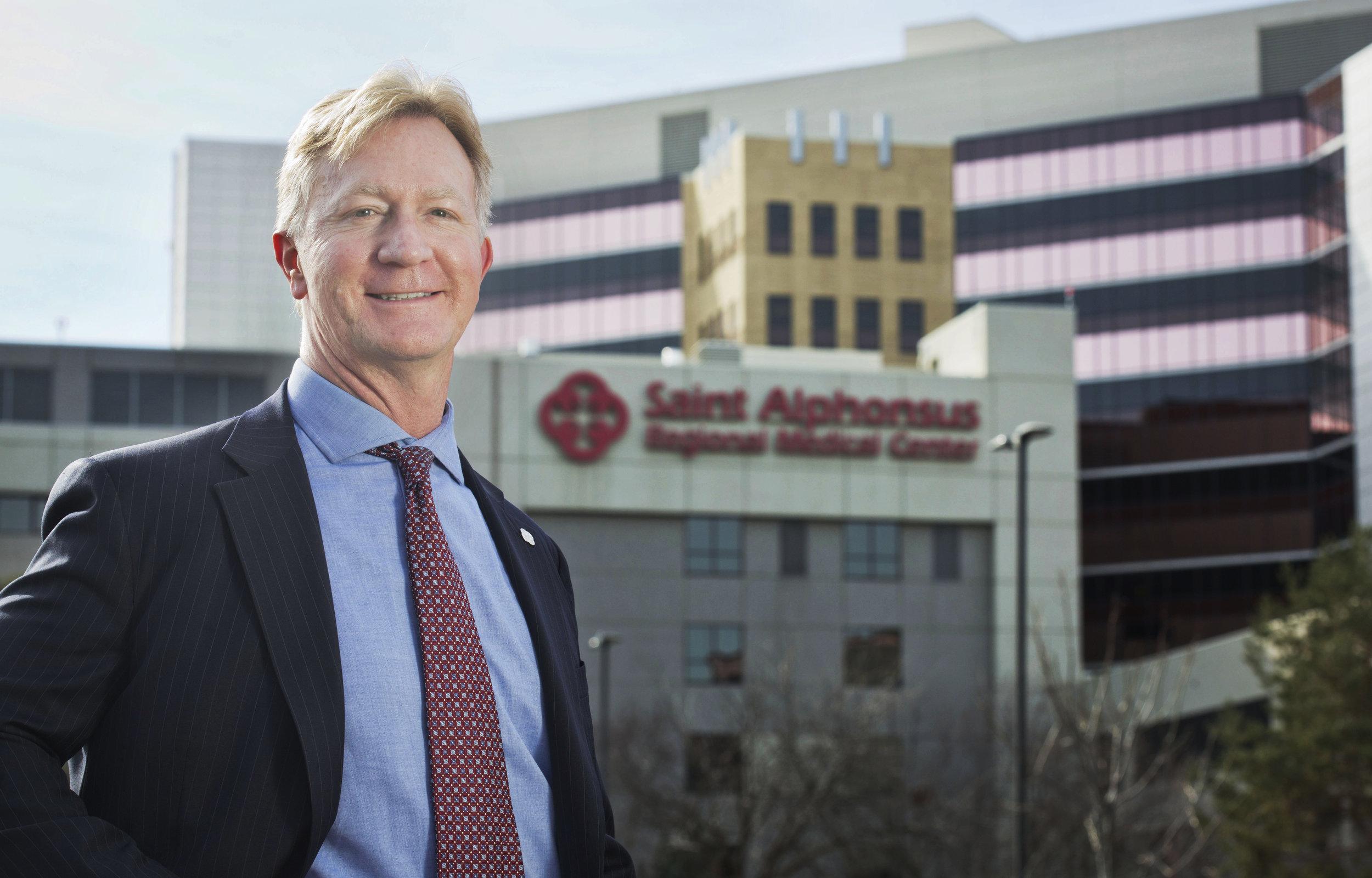 Rodney Reider at the Saint Alphonsus Health System
