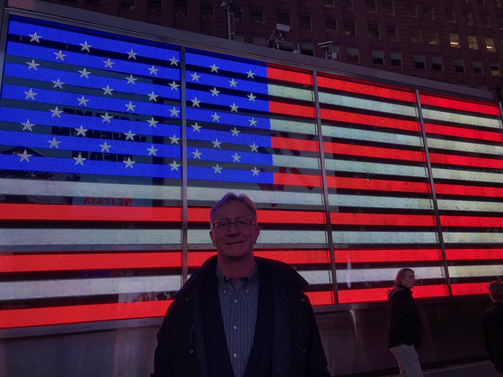 Rodney Reider in Midtown New York