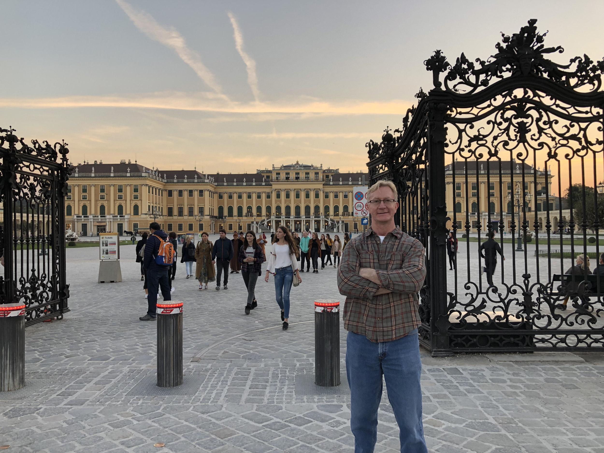 Rodney Reider -- International travel to Austria