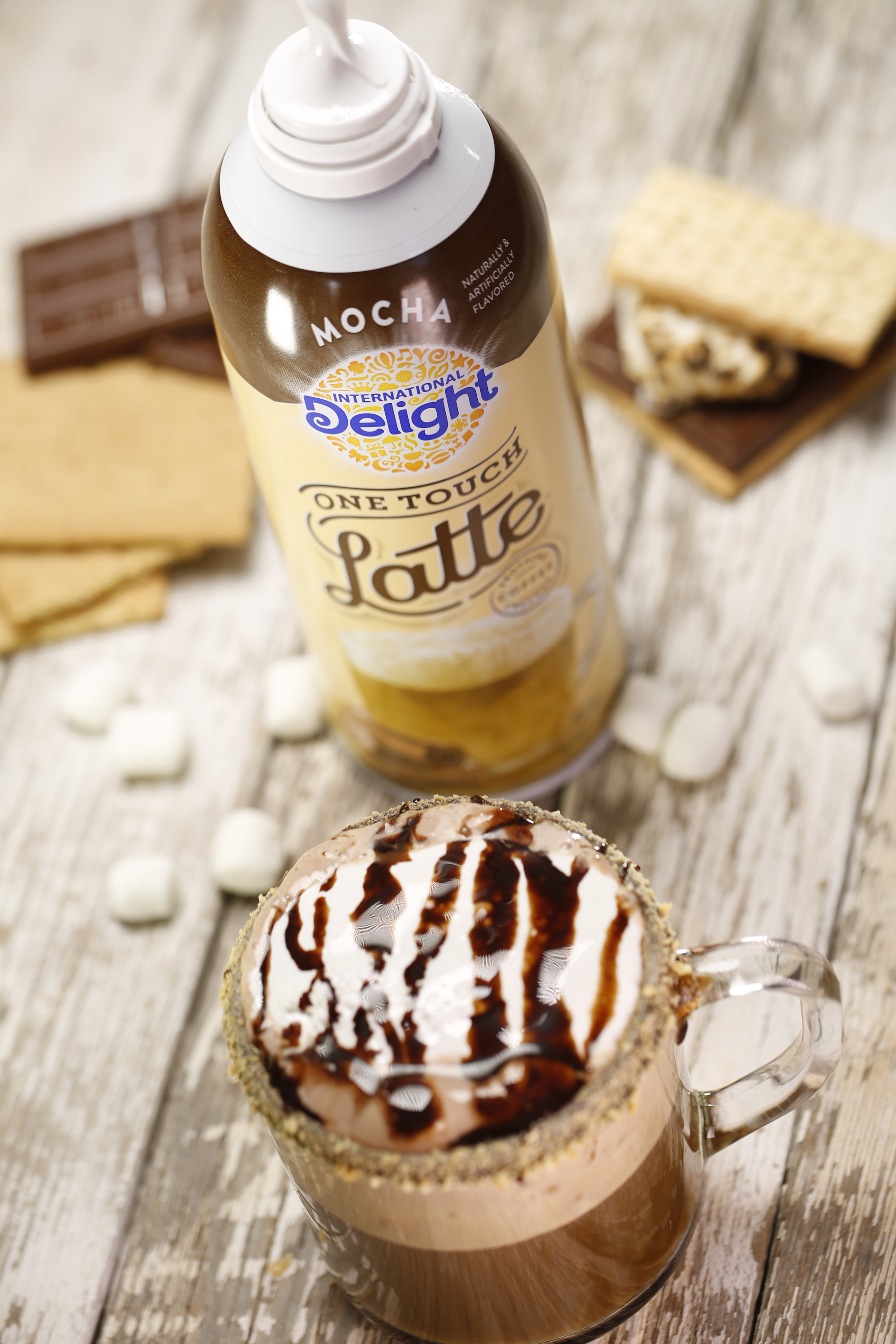 One Touch Latte - S'mores Latte