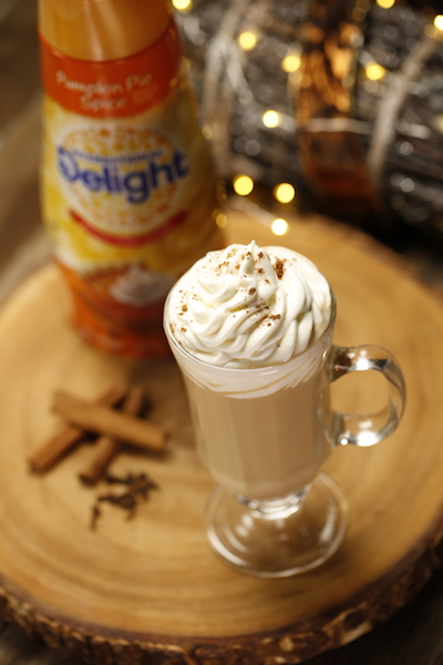 Pumpkin Pie Spice Latte Cocktail