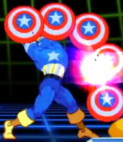 Captain America - Marvel vs Capcom 2