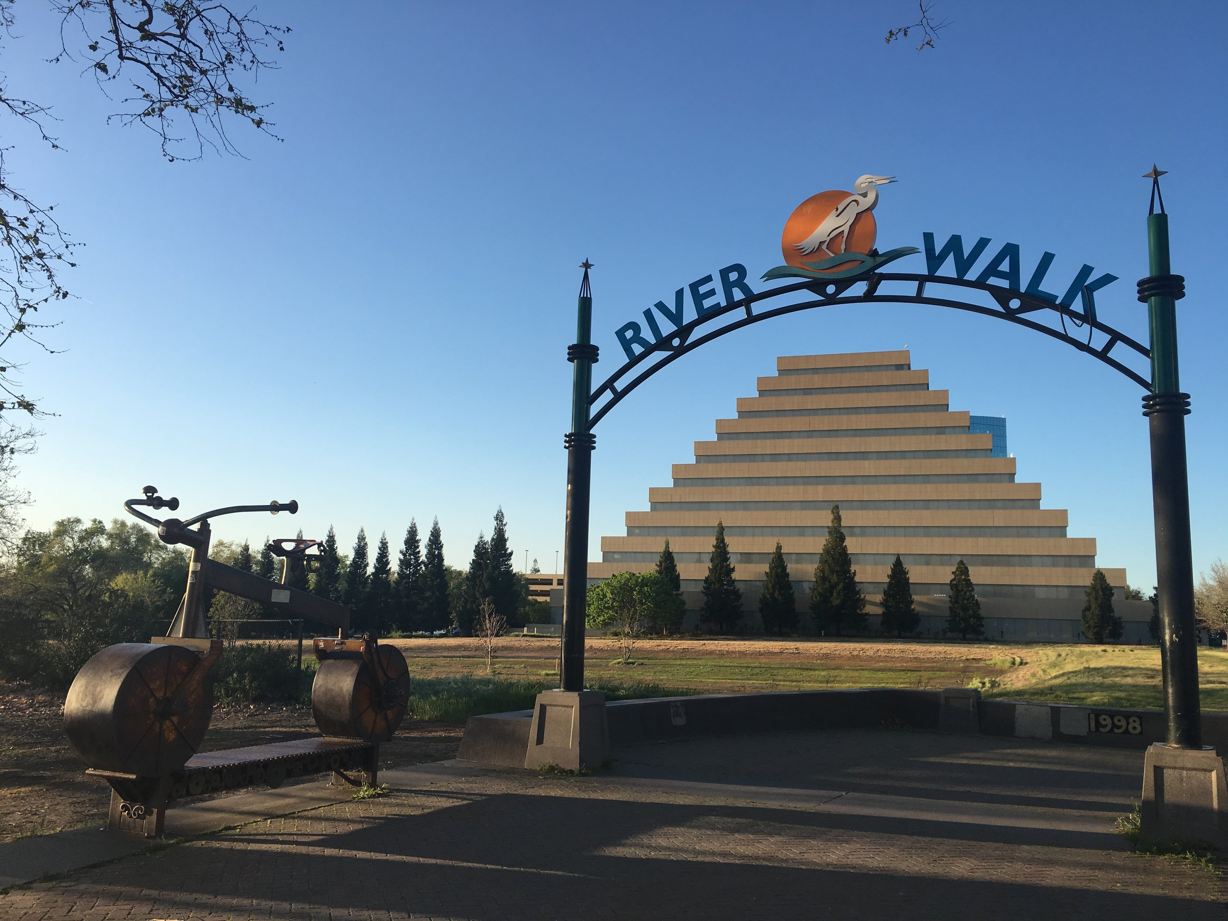 One of West Sacramento's earliest development projects after becoming incorporated was its River Walk completed in the mid-1990s.