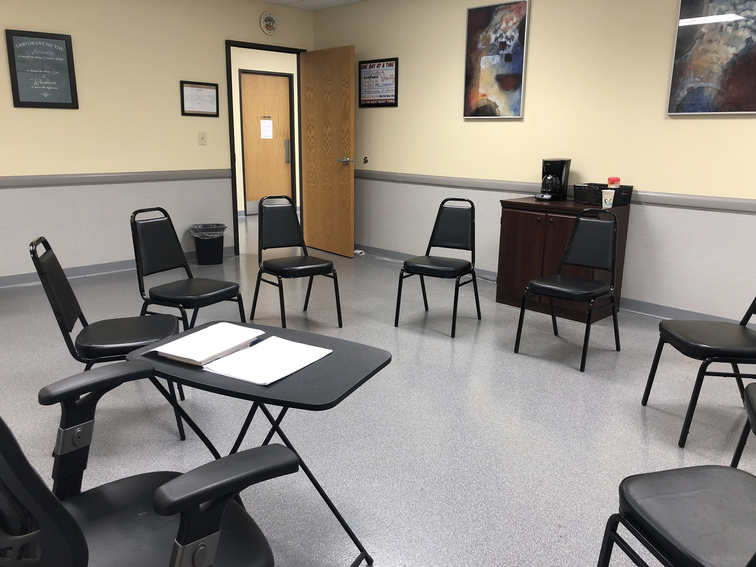 Group Therapy Room - Milford