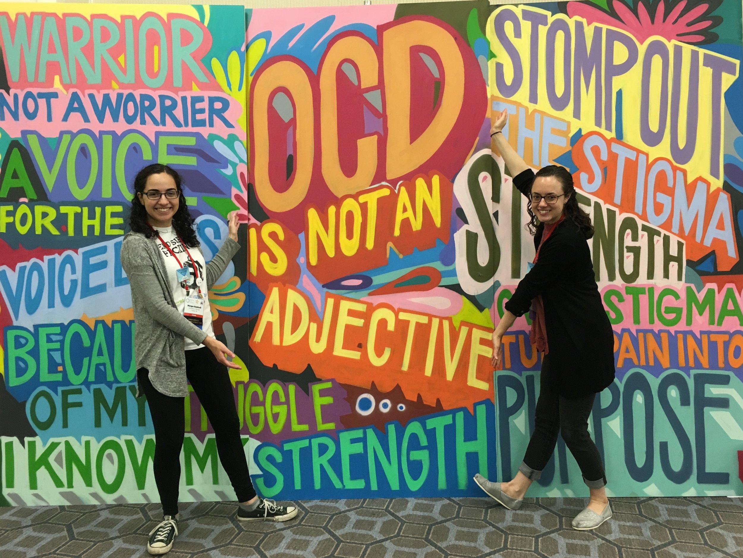 Morgan and Molly at OCDcon 2018