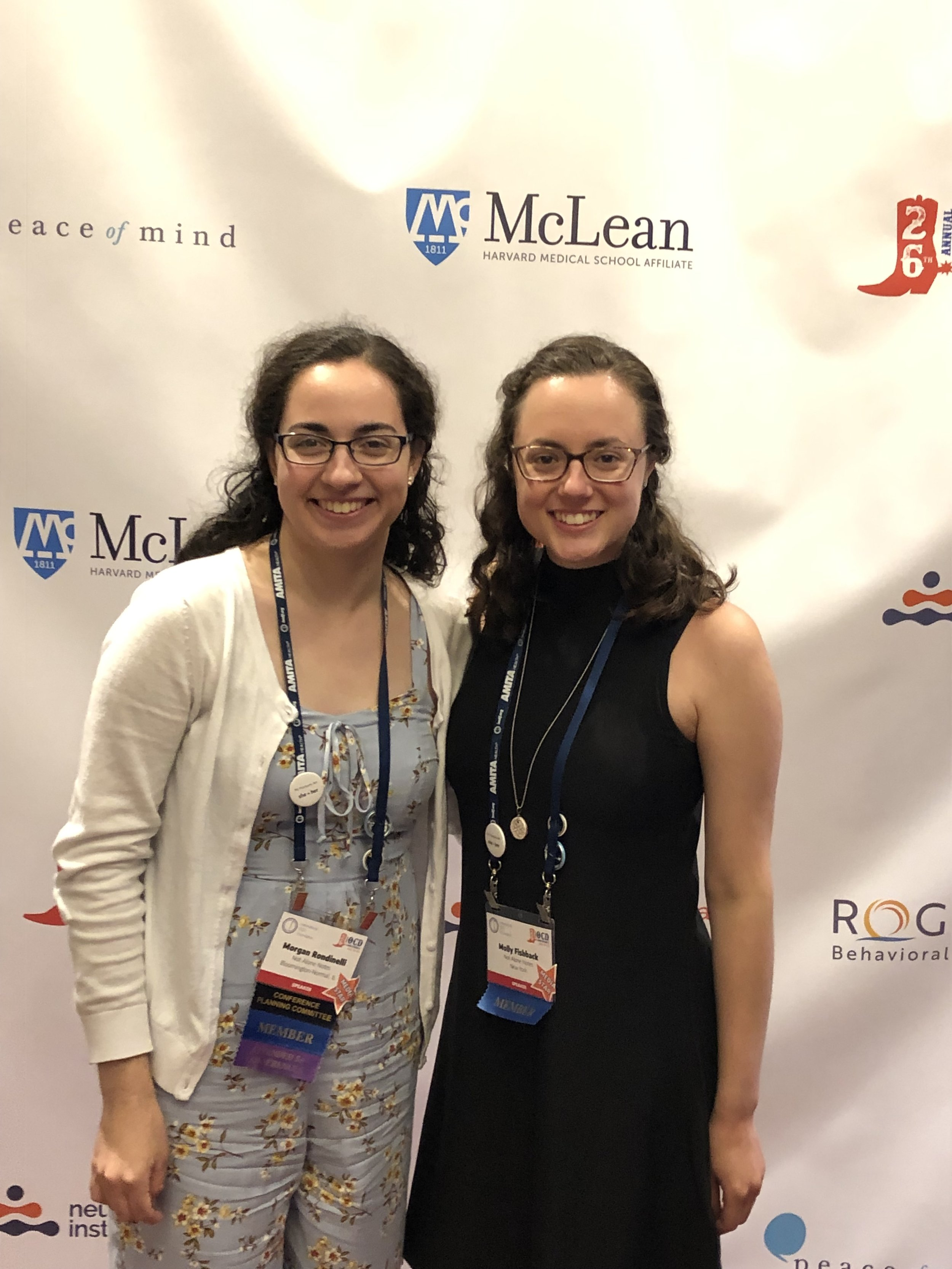 Morgan and Molly at OCDcon 2019