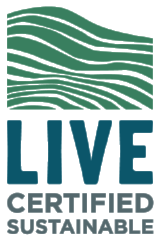 LIVE Certified sustainable logo