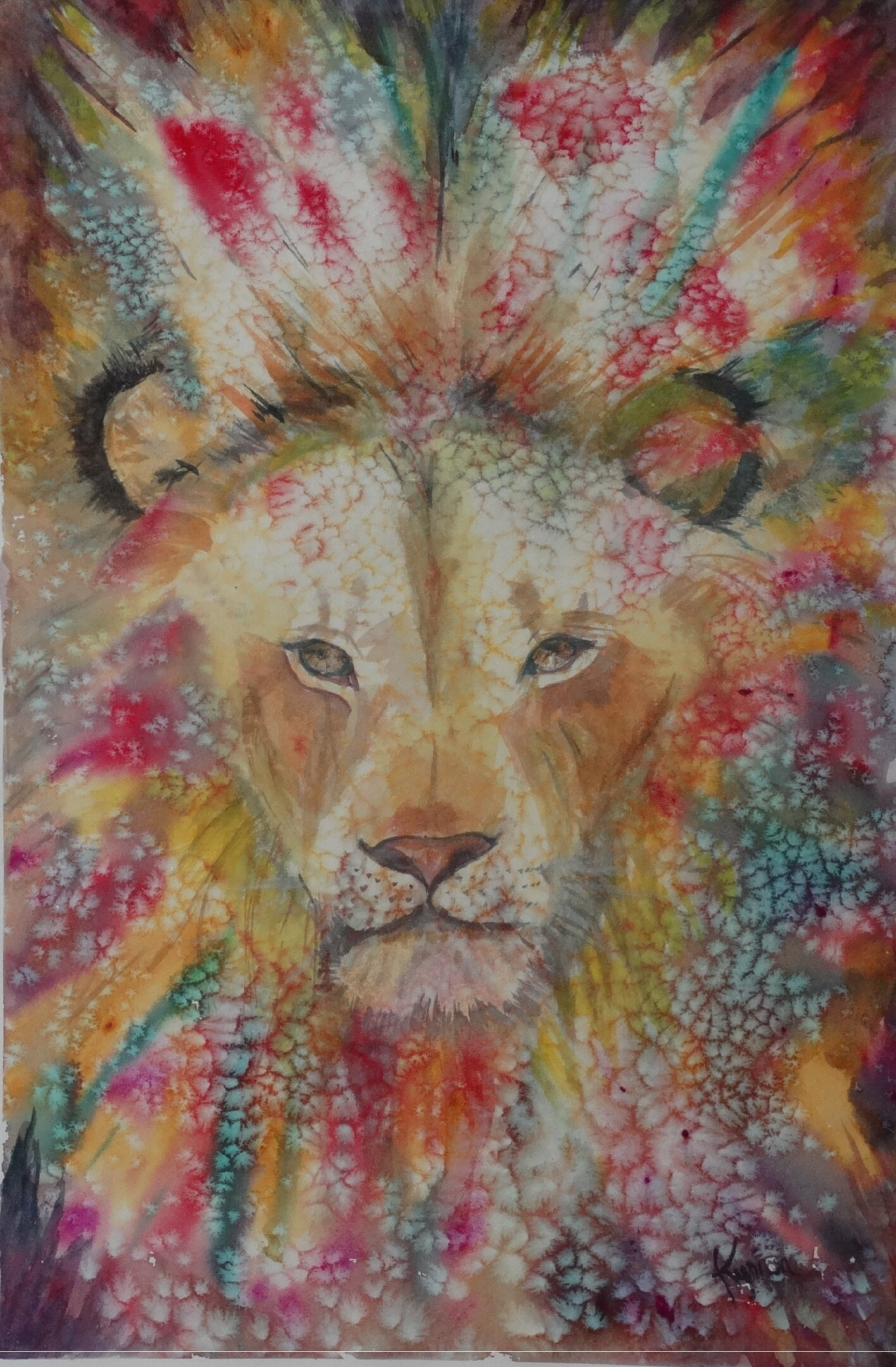 African Lion Magesterial 18x24.jpg