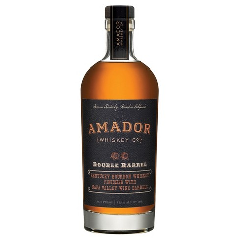 AMADOR DOUBLE BARREL  AROMA  Light with noticeable ethanol. Some dark fruit notes including cherry and blackberry plus oak, vanilla and a little spice.  TASTE  Grain and oak forward with subtle sweetness. The fruit and spice notes from the nose are still present. The spice is a little easier to differentiate as cinnamon, clove and nutmeg.  FINISH  Long, primarily oak – both toasted and charred – plus the grain and spice. The fruit is lost by the finish but a chocolate note emerges.