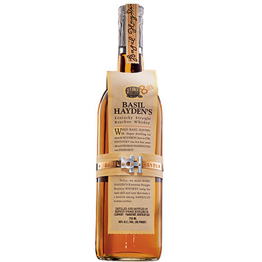 BASIL HAYDEN'S  AROMA  Spice, tea, hint of peppermint  TASTE  Spicy, light-bodied, gentle bite  FINISH  Dry, clean, brief