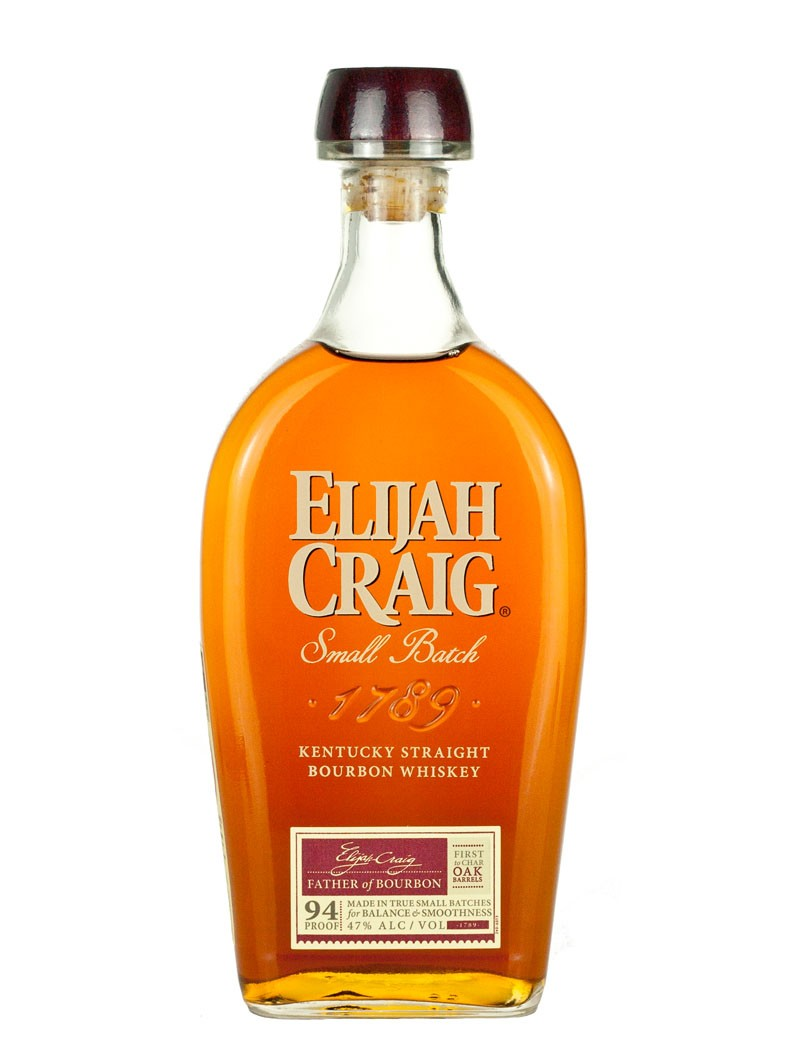 ELIJAH CRAIG SMALL BATCH  AROMA  Delightfully complex with notes of vanilla bean, sweet fruit, and fresh mint  TASTE  Smooth and warm; pleasantly woody with accents of spice, smoke, and nutmeg  FINISH  Long, sweet, and slightly toasty