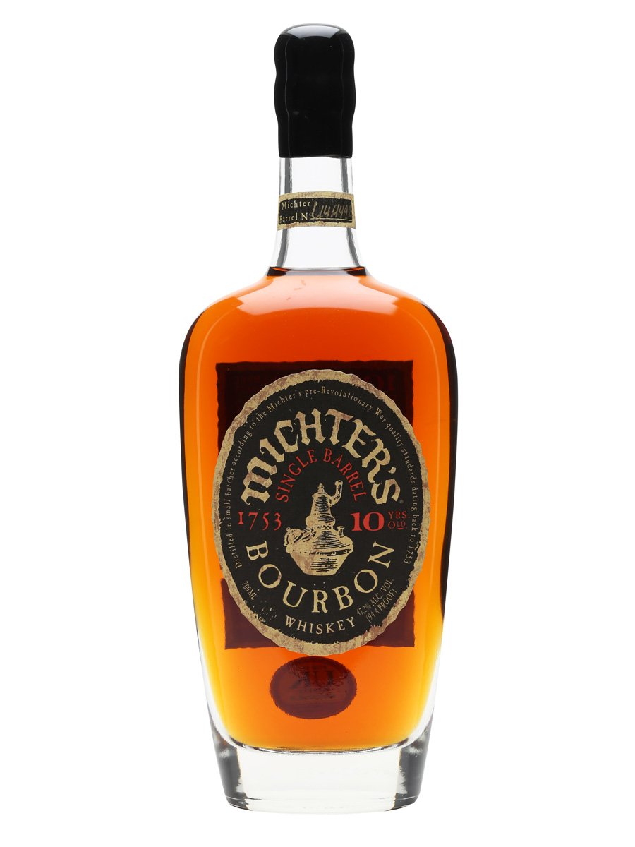 MICHTER'S 10 YEAR  AROMA  Velvety, rich, buttery toffee, toasted wood, and caramel corn  TASTE  Balance between creamy and spicy. A rich toffee sweetness throughout  FINISH  The finish closes slightly peppery and dry