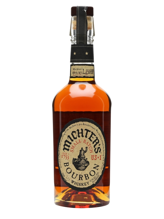 MICHTER'S SMALL BATCH  AROMA  Rich notes of barley and dried fruits  TASTE  Rich, potent with spice, cinnamon, and pepper  FINISH  Pepper lingers