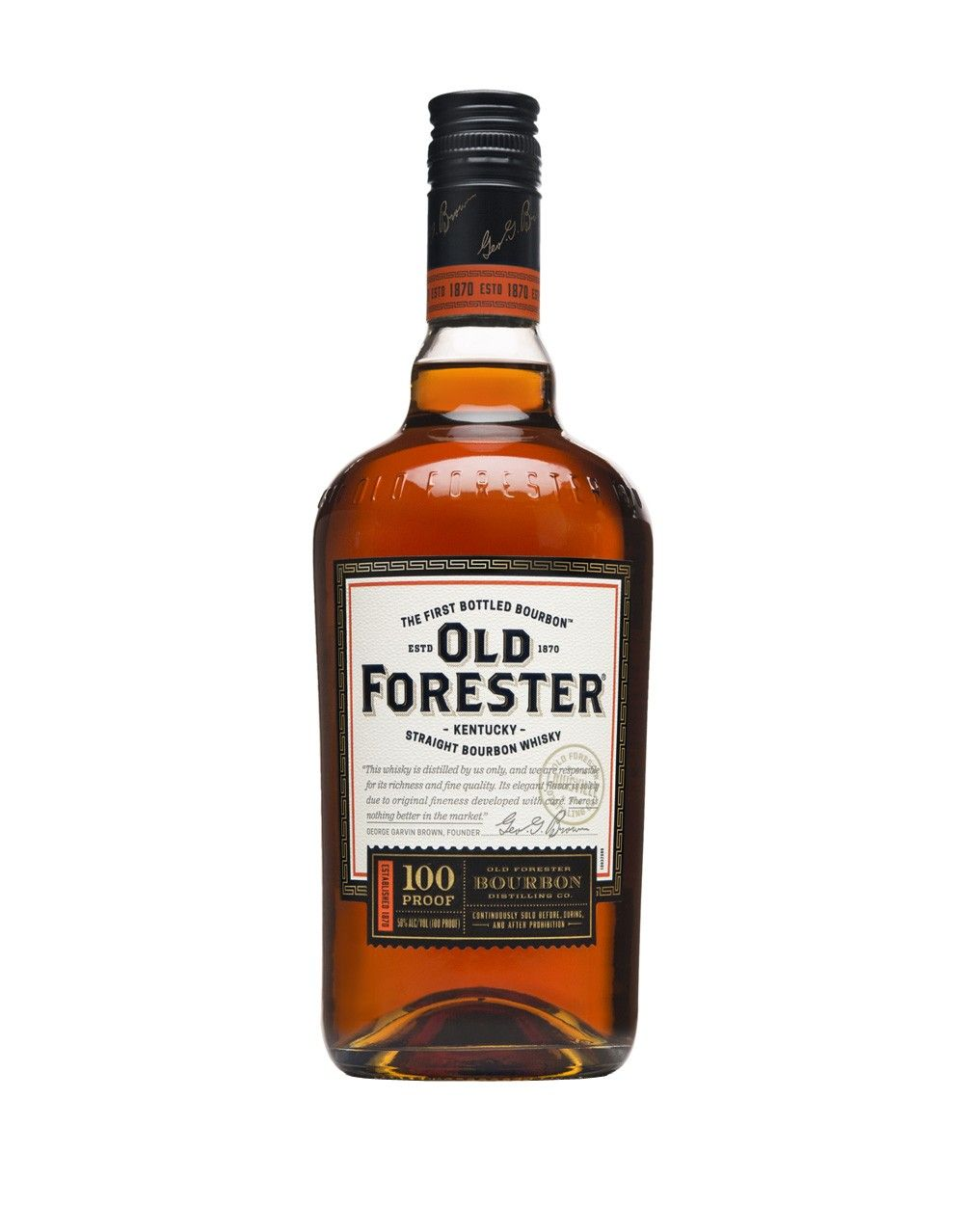 OLD FORESTER  AROMA  Buttered toast with cherry jam, pecan pie, and popcorn  TASTE  Roasted pralines with. More cherry, baking spice, and a dash of chocolate  FINISH  Smooth and even with spice on the back palate