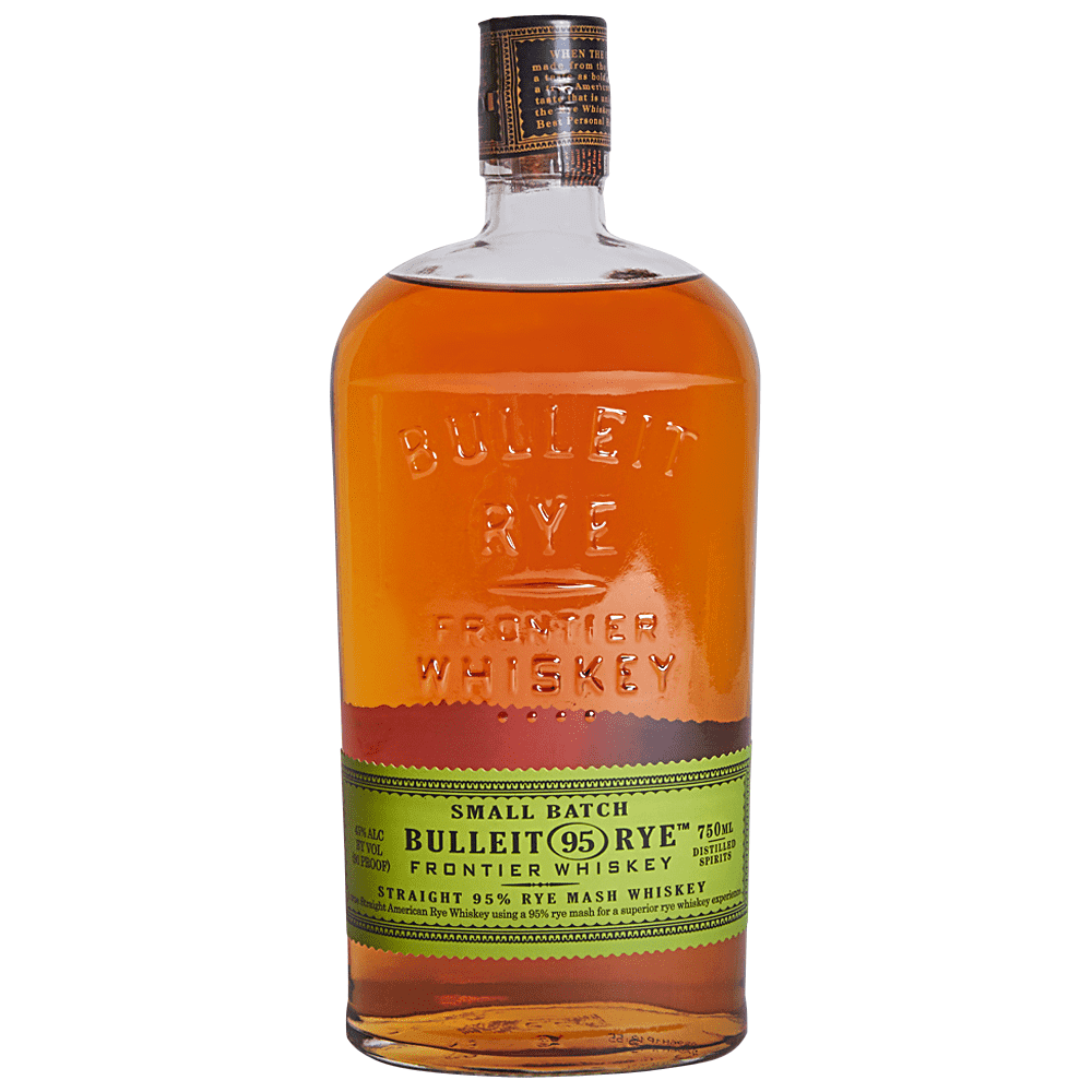 BULLEIT RYE  AROMA  Rich Oaky Aromas  TASTE  Exceptionally smooth, with hints of vanilla, honey, and spice  FINISH  Crisp and clean, with long, lingering flavors