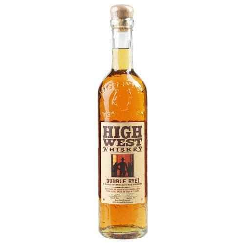 HIGH WEST DOUBLE RYE  AROMA  Mint, clove, cinnamon, licorice root, pine nuts, and dark chocolate. A surprising dose of gin botanicals throughout  TASTE  Rye spices up front, then menthol, mint, eucalyptus, herbal tea with wildflower honey and all spice  FINISH  Cinnamon and mint, gradually sweetening through the finish, with a hint of anise