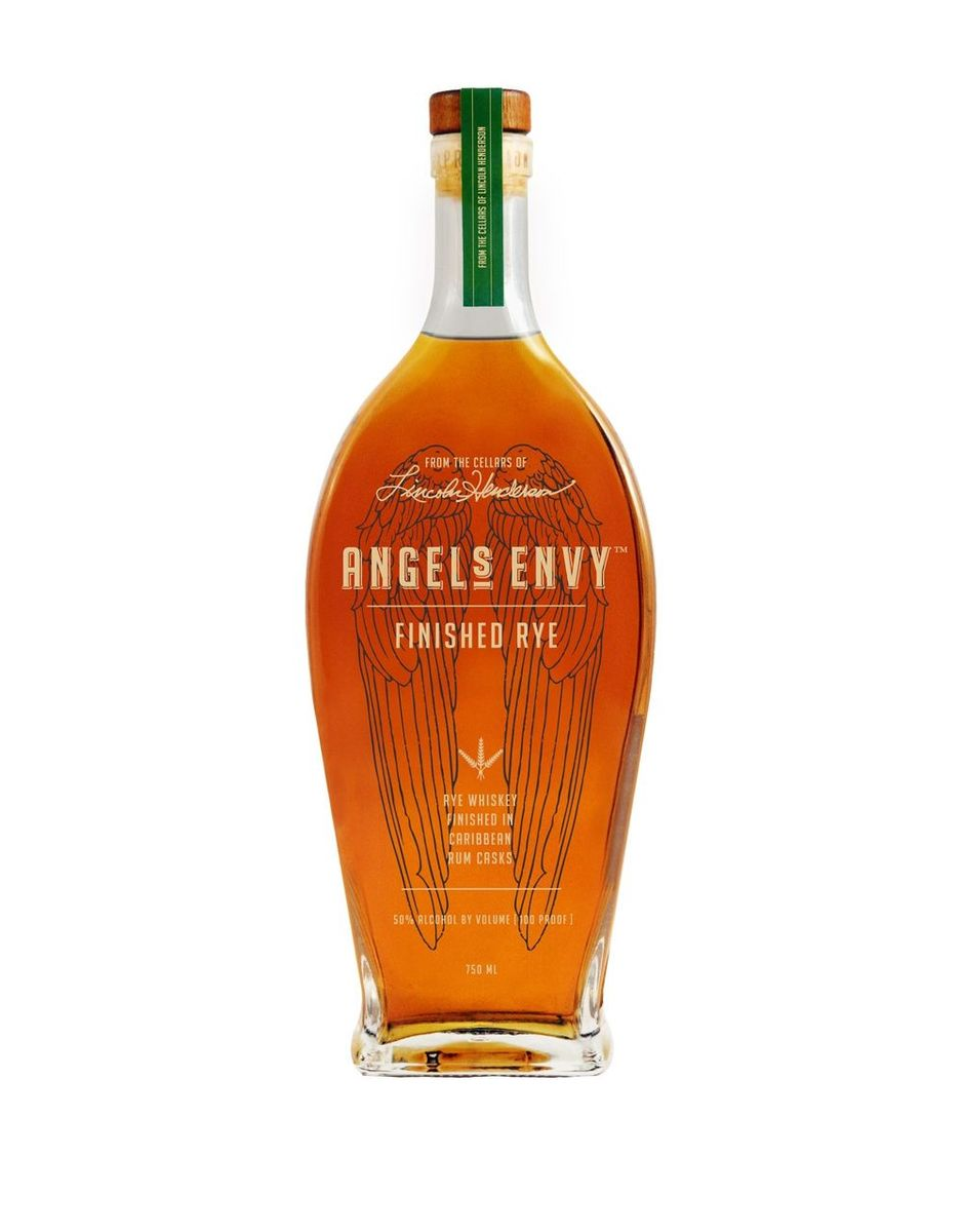 ANGEL'S ENVY RYE  NOSE  Aromas of citrus, caramel candy, maple sugar, vanilla, oak, hazelnut, spice, and sherry wood  PALATE  Sweet rum, sherry wood, and soft oak  FINISH  Both sweet and dry, as well as quick and easy