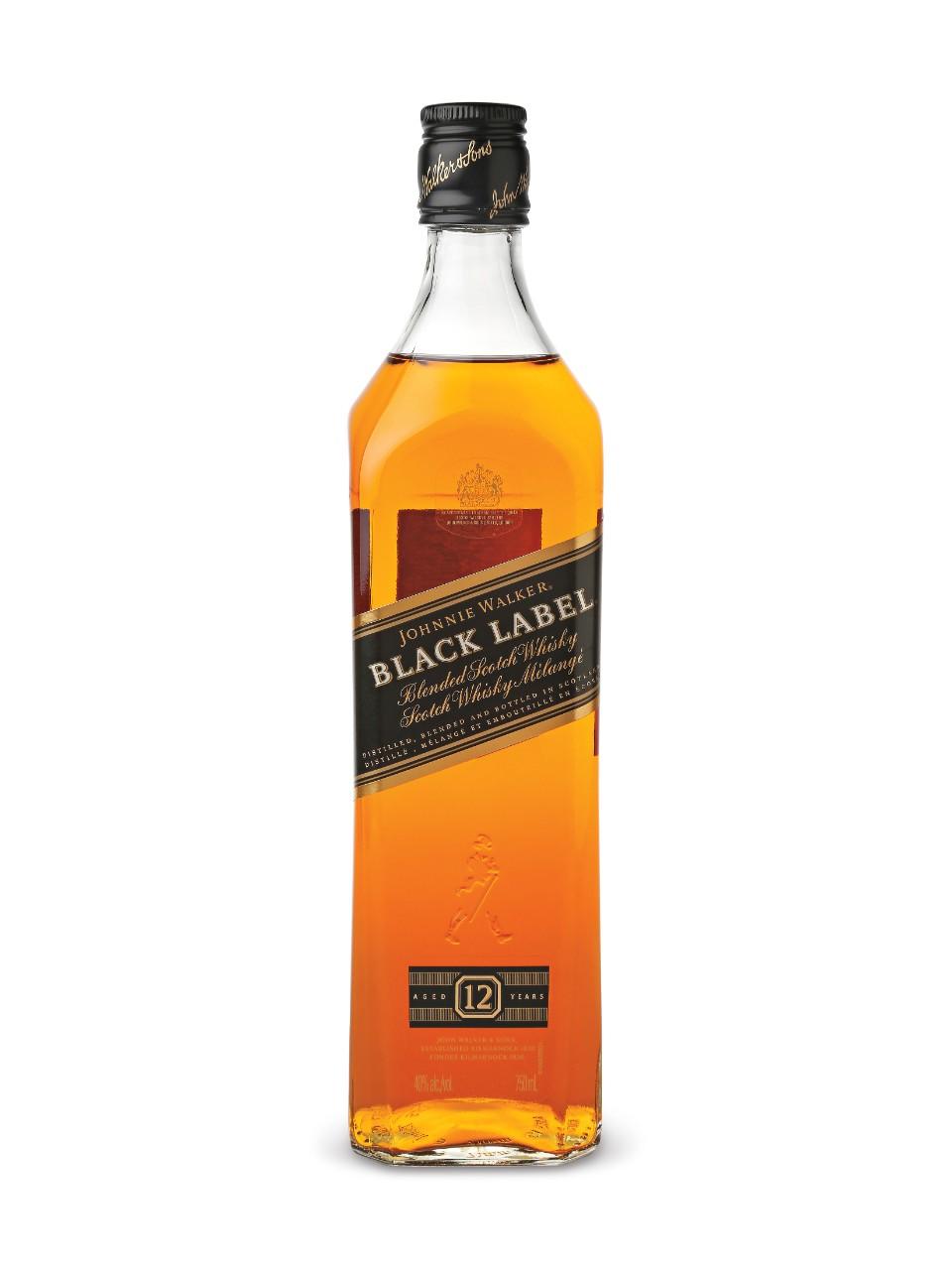 JOHNNY WALKER BLACK