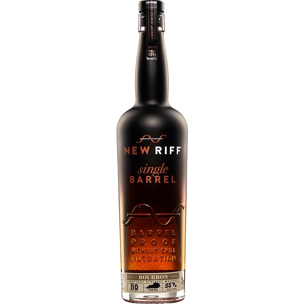 NEW RIFF KENTUCKY STRAIGHT BOURBON  Nose: Butterscotch rounding into fresh oak, with hints of vanilla and rye spice.    Taste: Broad, fulsome mouthfeel, leading to a sweeter vanilla accent, before a gathering of rye spices (clove, cinnamon, mint, dark berry) into the finish.    Finish: Long, rye-led finish, with brambly red-black fruits amid white pepper and clove.