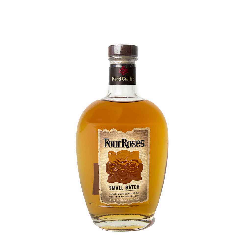 FOUR ROSES SMALL BATCH  AROMA  Mellow spice, rich fruit, hints of sweet oak, and caramel  TASTE  Mellow, ripened red berries, dried spice, well-balanced, rich  FINISH  Soft, smooth and pleasantly long