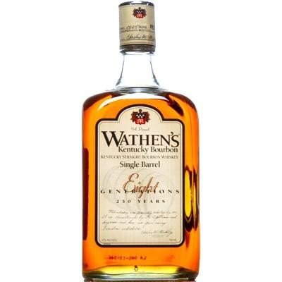 WATHEN'S SINGLE BARREL  AROMA  Strong notes of vanilla and oak, hints of bubble gum and circus peanuts  TASTE  Cinnamon and vanilla  FINISH  Oak and tannins re-enter with a medium- to long- finish