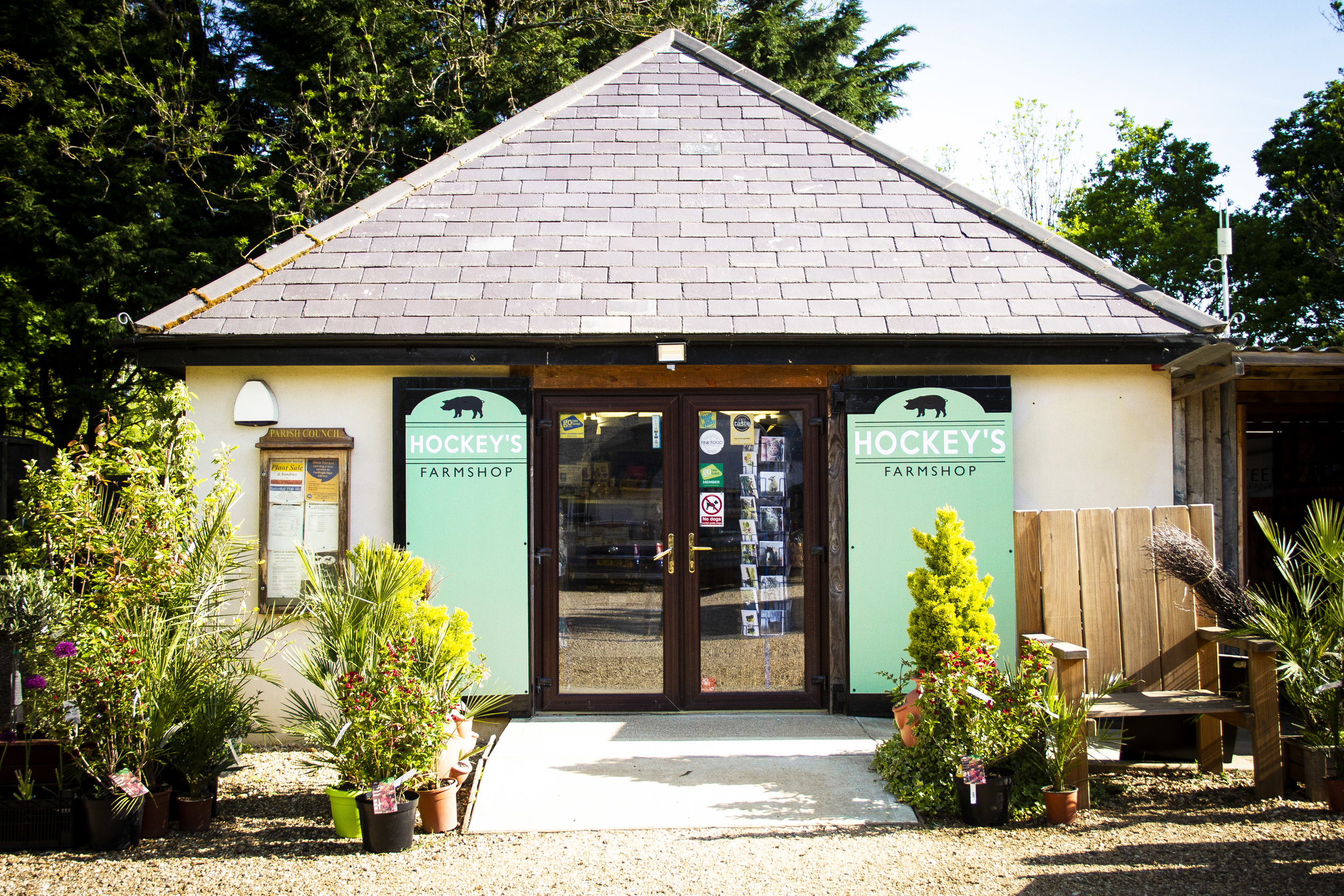Welcome to Hockey's - Award winning farm shop and café
