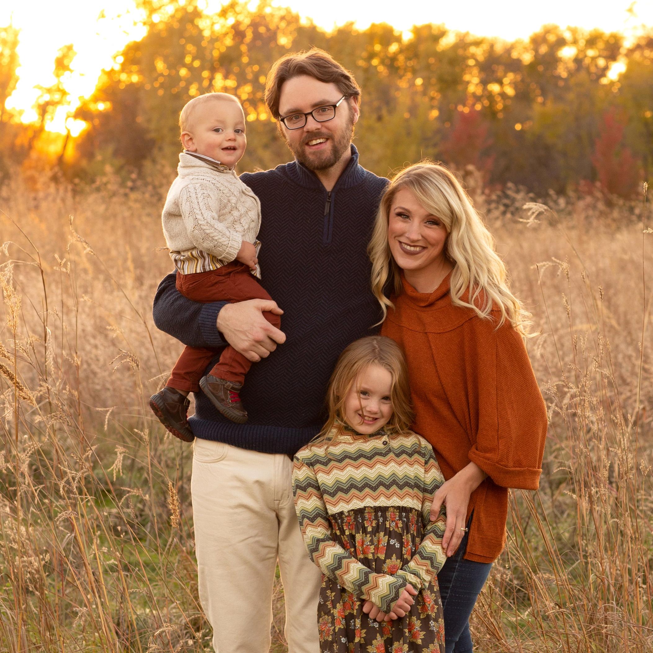 Family Portrait Courtesy Hannah Parker