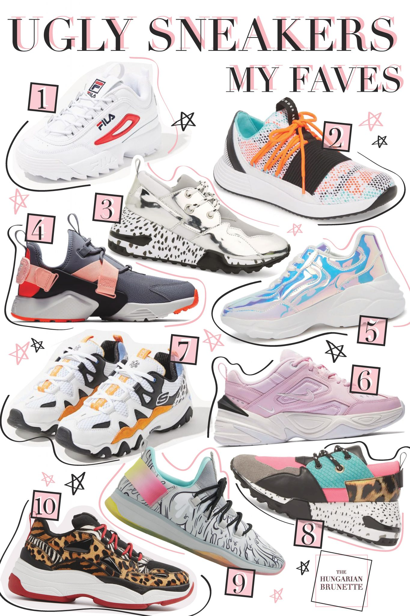 UGLY SNEAKERS: MY FAVES — The