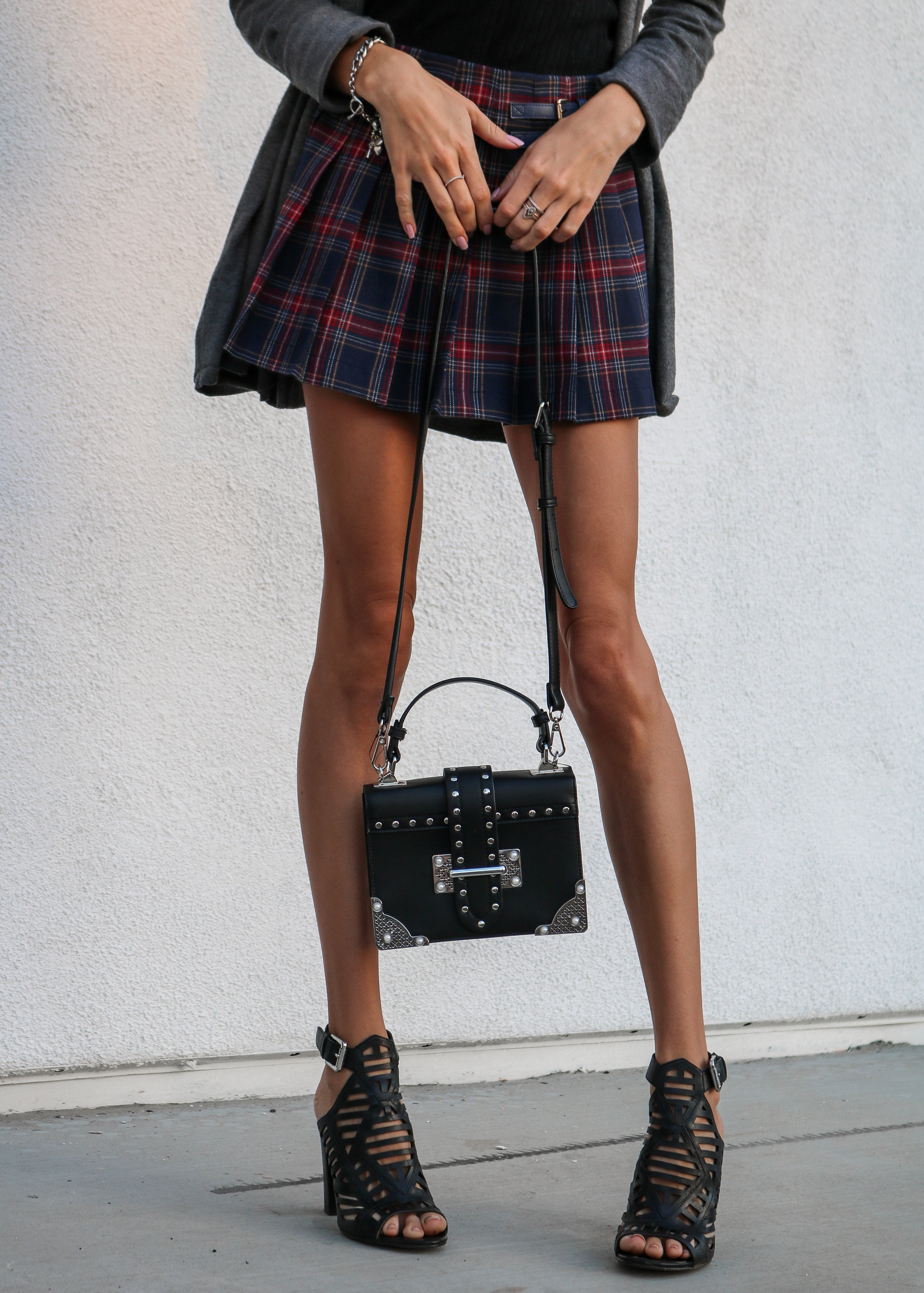 The Hungarian Brunette schoolgirl skirt and advice to my high-school self