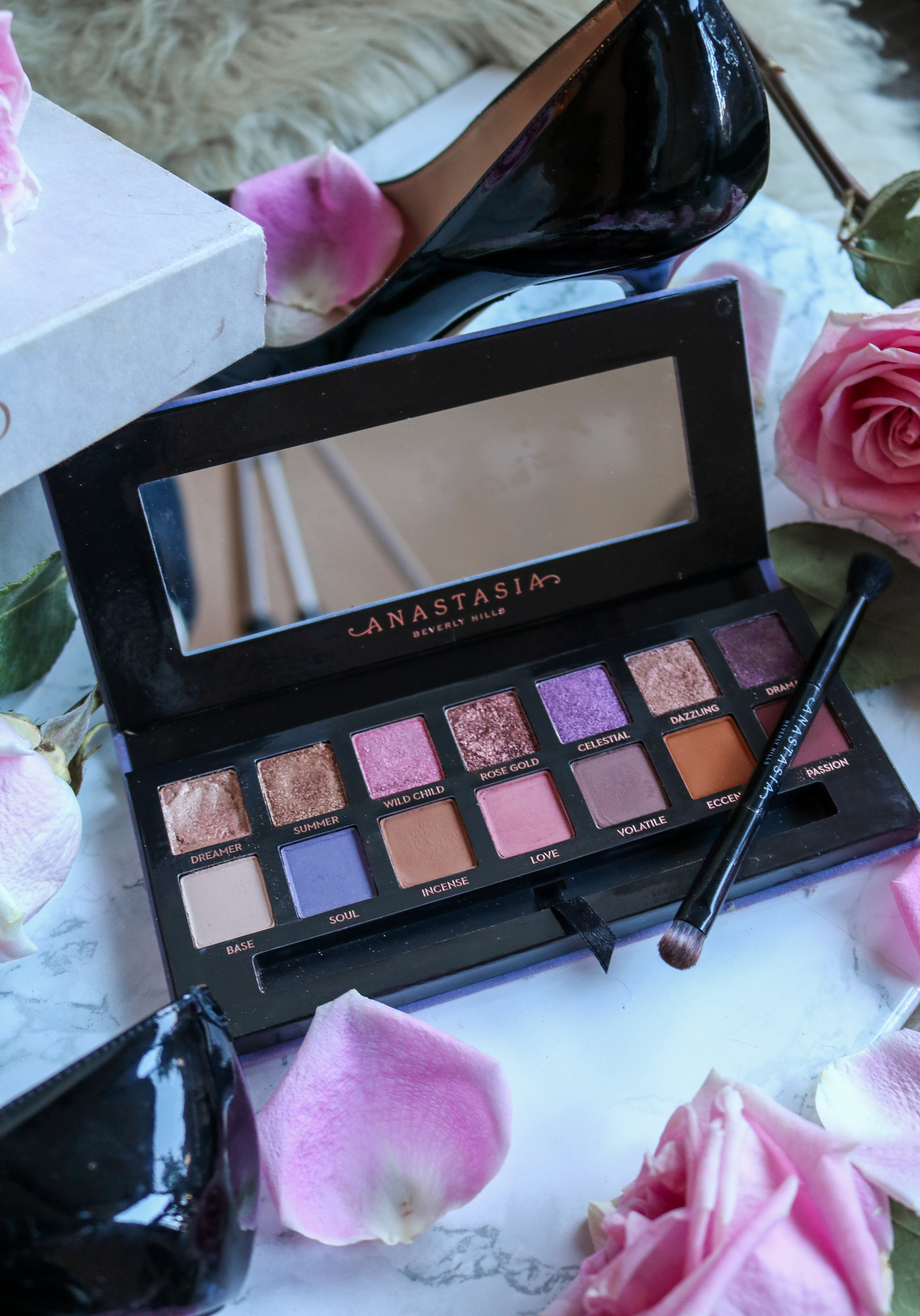 The Hungarian Brunette  - Anastasia Beverly hills norvina eyeshadow palette review