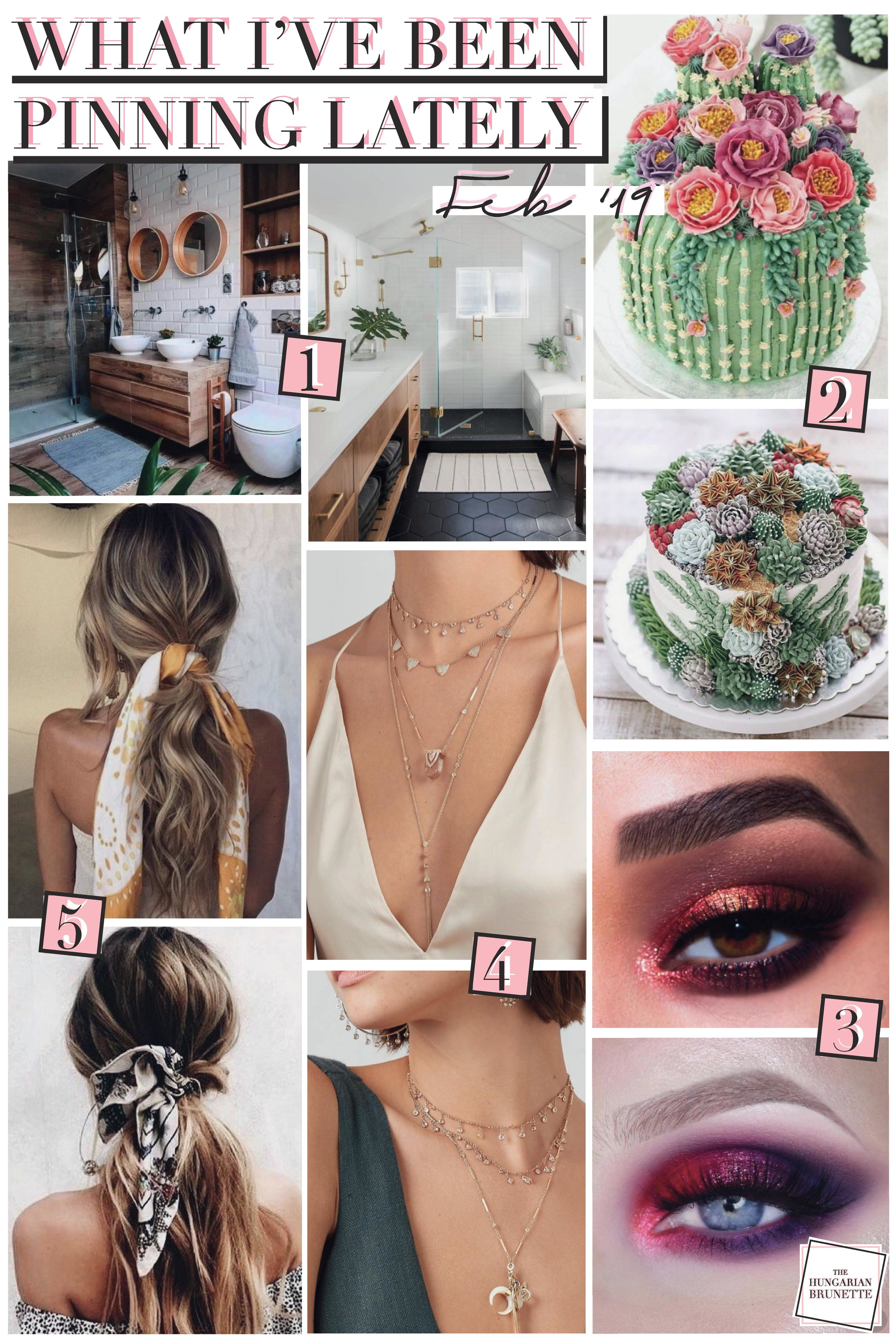 The Hungarian Brunette - What I've been pinning lately - feb 19