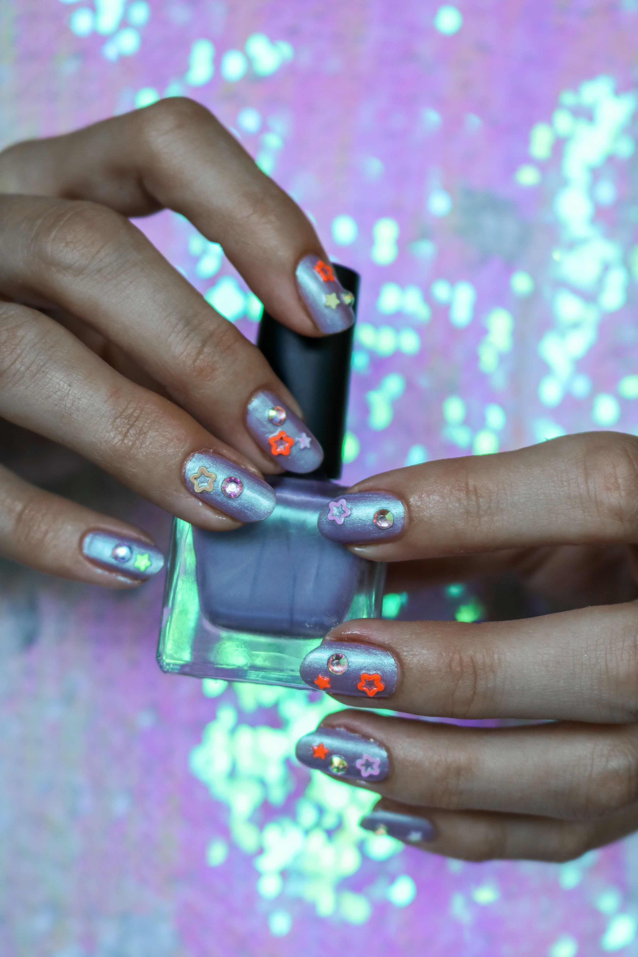 The Hungarian Brunette starry night nail art (4 of 7).jpg